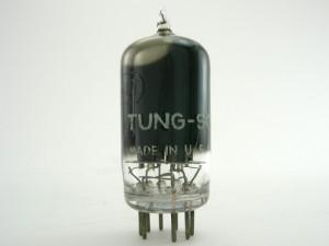Tung-sol 12au7 Black Glass
