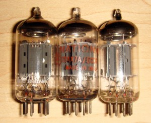 The three Mullards - 12ax7
