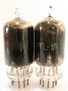 Tung-Sol 12au7 Black Plates Black Glass