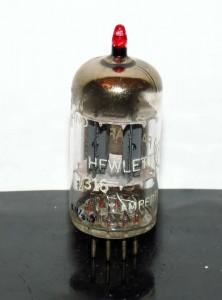 Amperex 7316 Short Plates D-getter