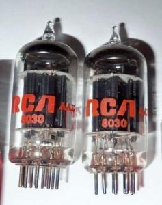 RCA 5687 Black Plates O-getter