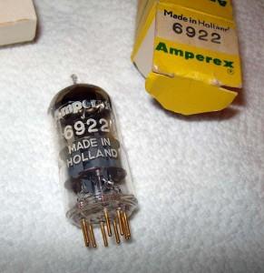 Amperex 6922 Pinched Waist D-getter