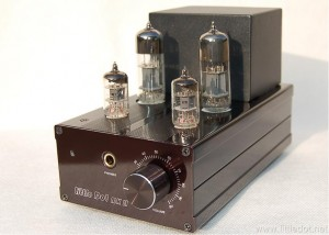 Little Dot MK II headphone amplifier