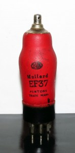 Mullard EF37/6J7GT Red bottle