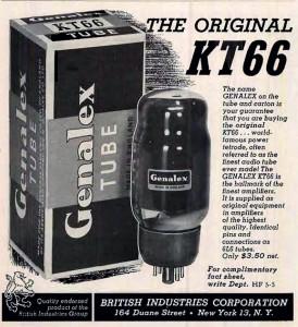 Genalex KT66 Smoked Glass England