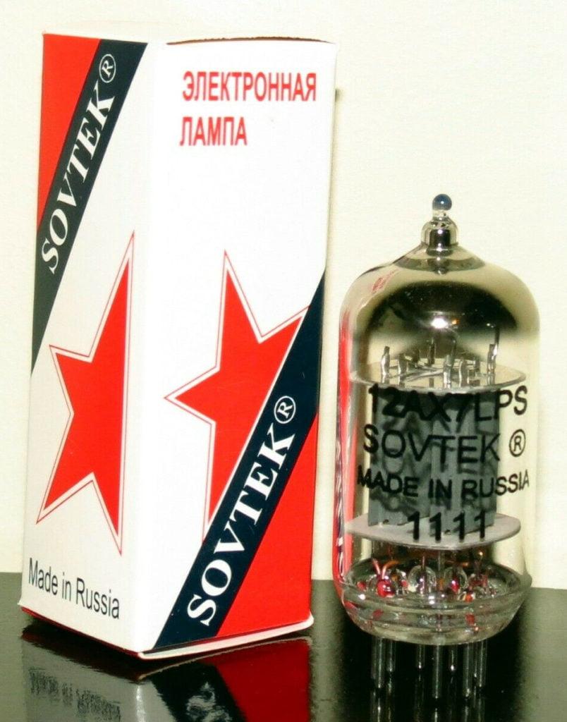 Sovtek 12ax7LPS Russia