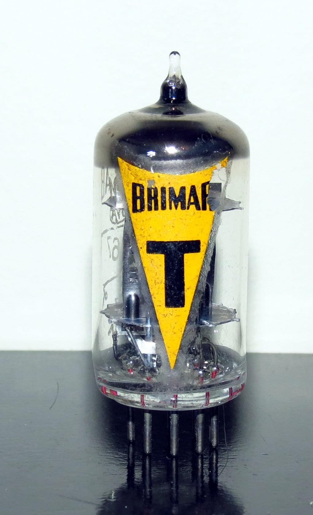 Brimar 6067 Black Plates T