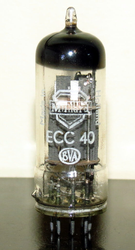 Philips ECC40 Wrinkled Glass 1956