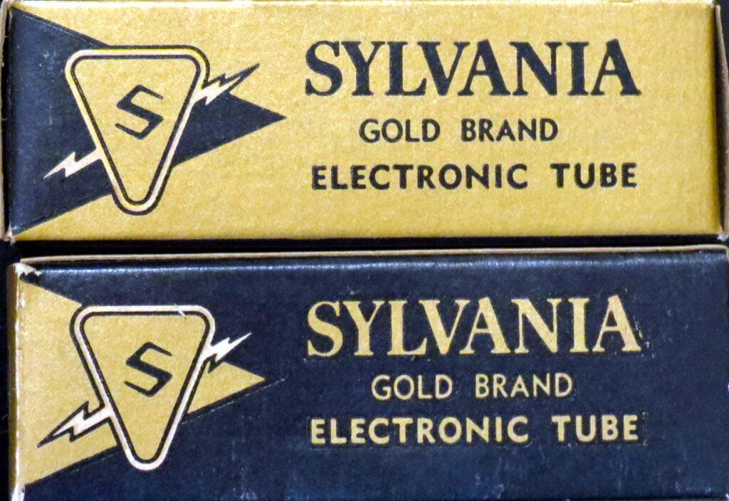 Sylvania Gold Brand tubes