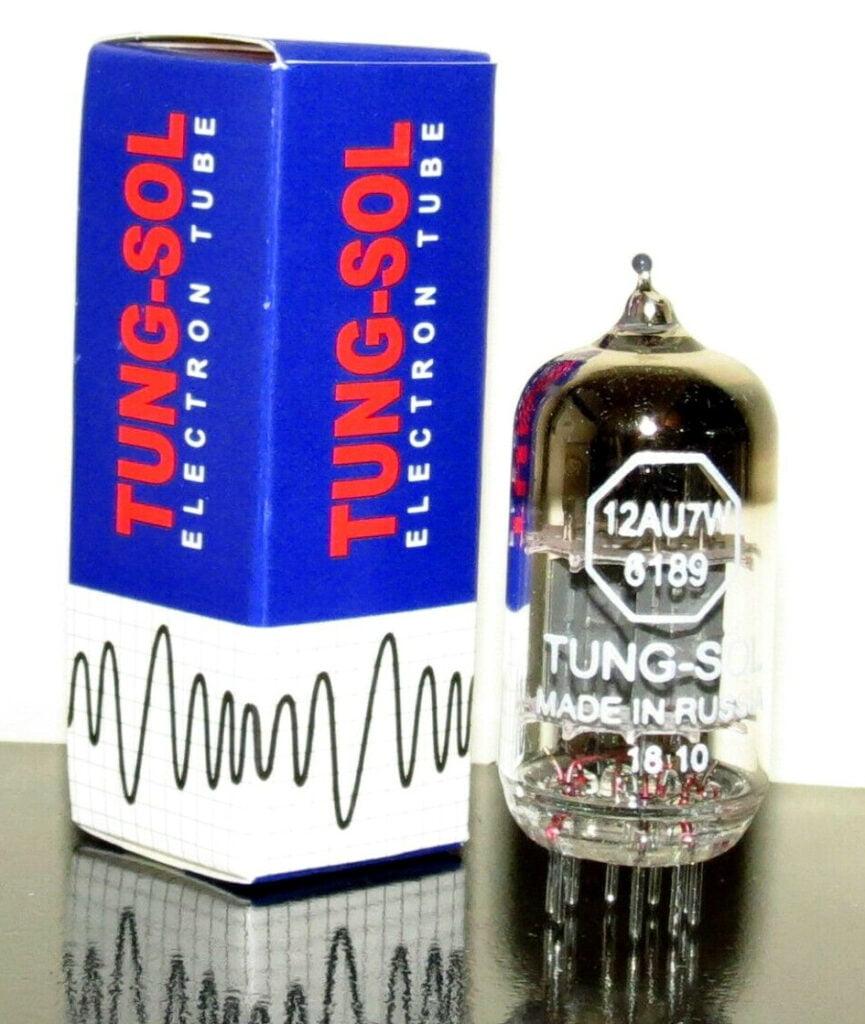 Tung-Sol 6189/ECC82/12AU7W tube - Russia
